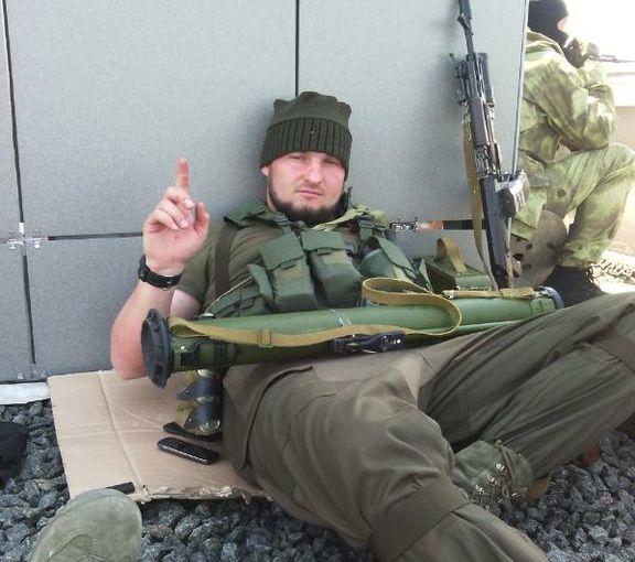 Чечены в Донецке