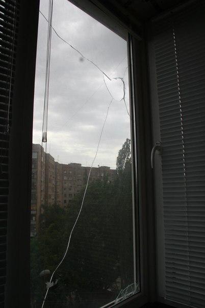 Окно - осколок