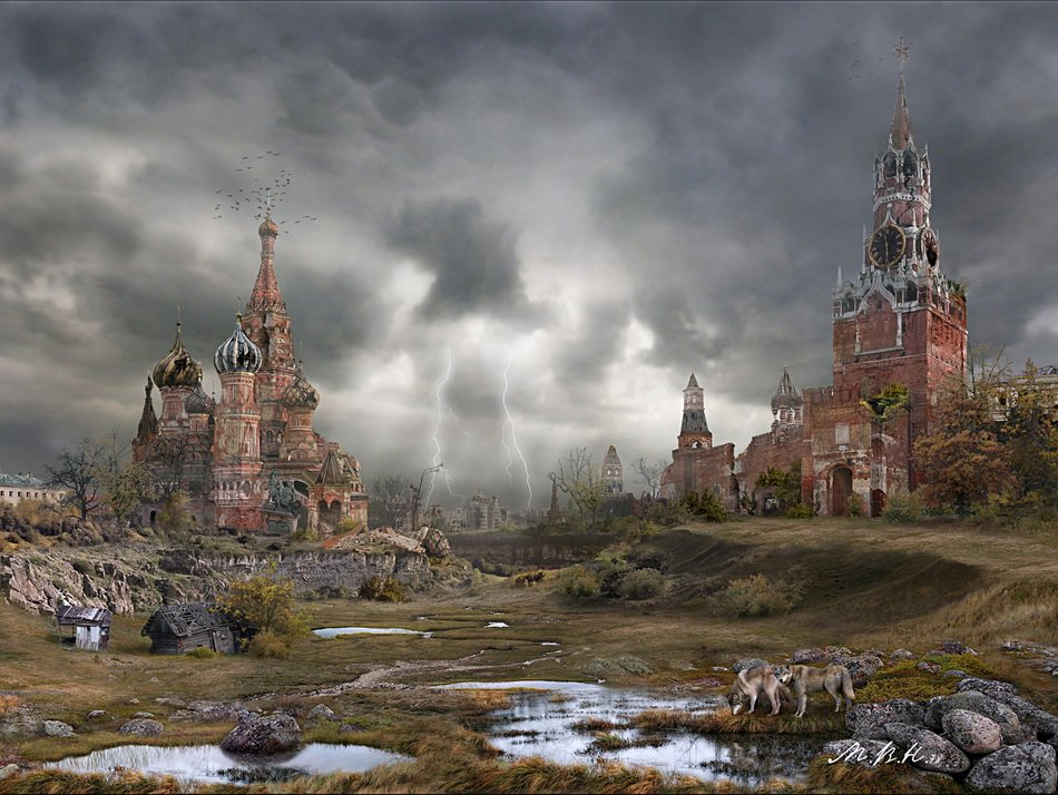 remnants of Moscow