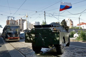 Donetsk column separatists