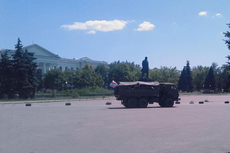 Площадь Ленина 5 июля-