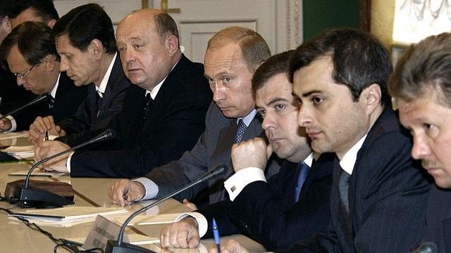 Путин, Медведев, Сурков
