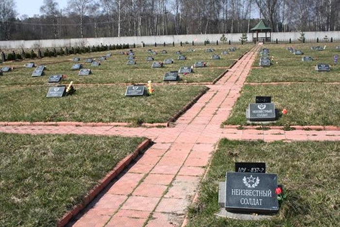 Bogorodskoe, a memorial to those killed in Chechnya