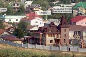 House dictator Yanukovich in Donetsk