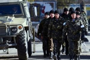 украинские офицеры