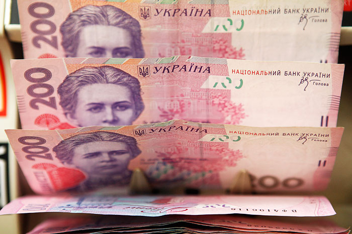 Money, finance, the hryvnia