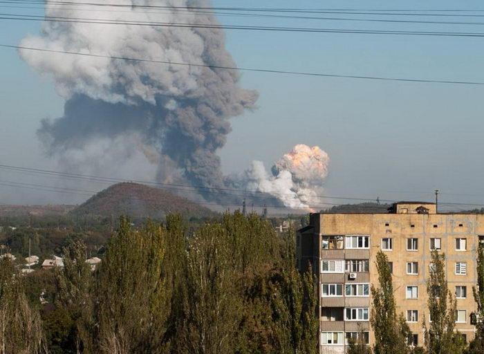 Донецк взрыв завода 2