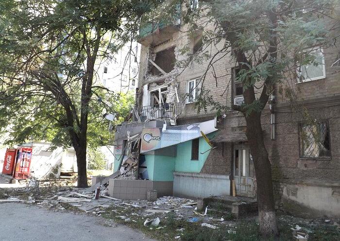 Lugansk shelling terrorists