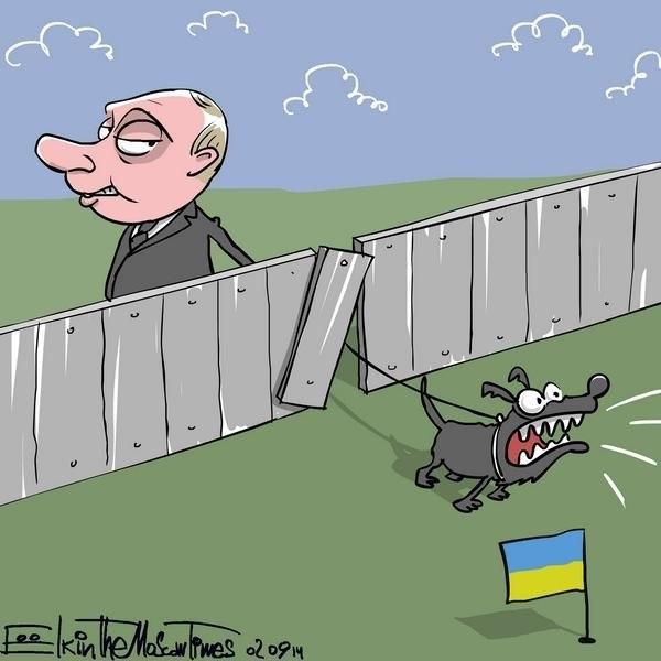Putin and chain media