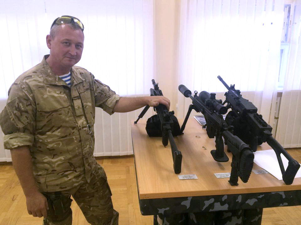 Ukrainian weapons Fort - Yuri Biryukov