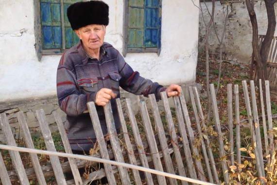 Ukrainian Village resident Saurovka