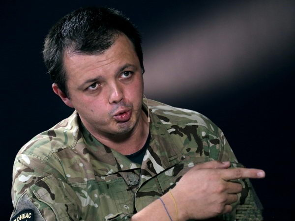 Semen Semenchenko battalion commander