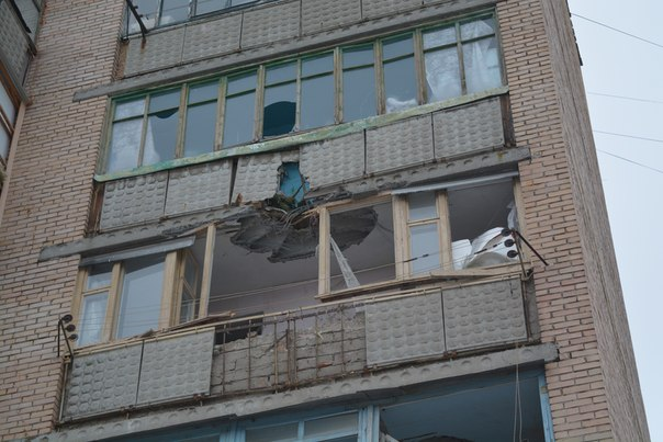 Kramatorsk shelling Russian occupants