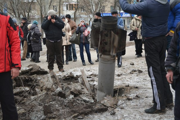 Ракета российских оккупантов