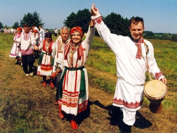 Мордва, потомки русских