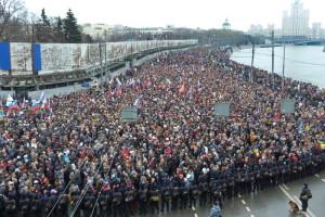 марш памяти Немцову