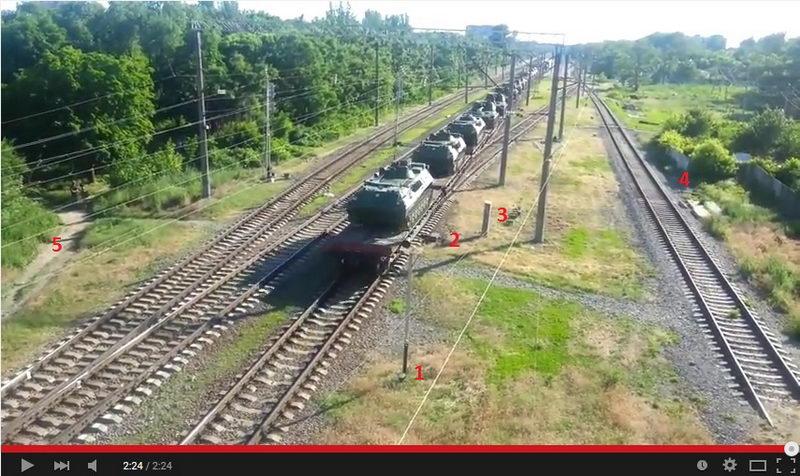 российская военная техника Таганрог - Иловайск
