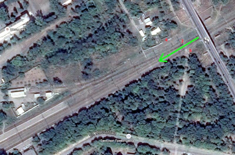Таганрог, Бакинский путепровод - Иловайск
