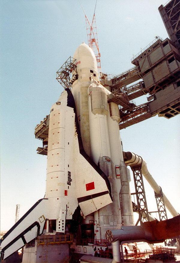 Стартовый комплекс космического корабля «Буран-Энергия»