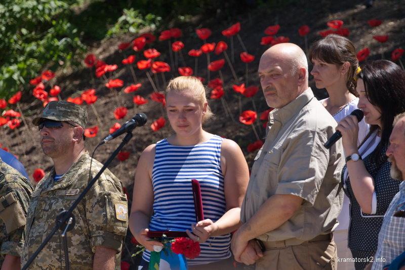 Сестра погибшего бойца Вооруженных Сил Украины