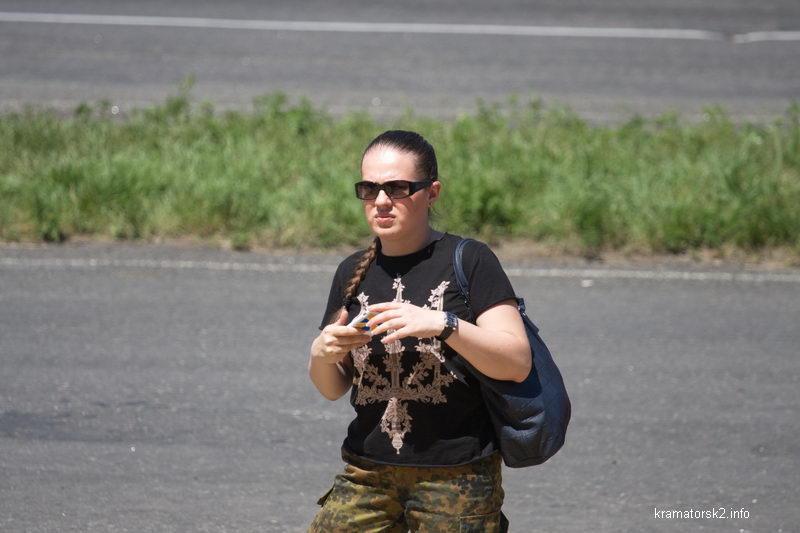 волонтёр Елена Масорина