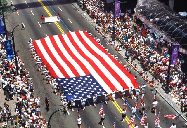 Американцы, флаг
